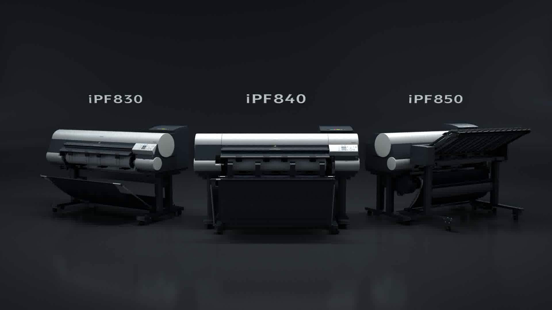 New iPF850 iPF840 iPF830 graphic