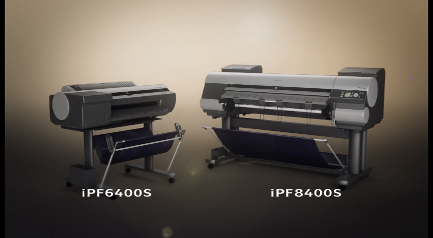 New 8 Colour iPF Models graphic