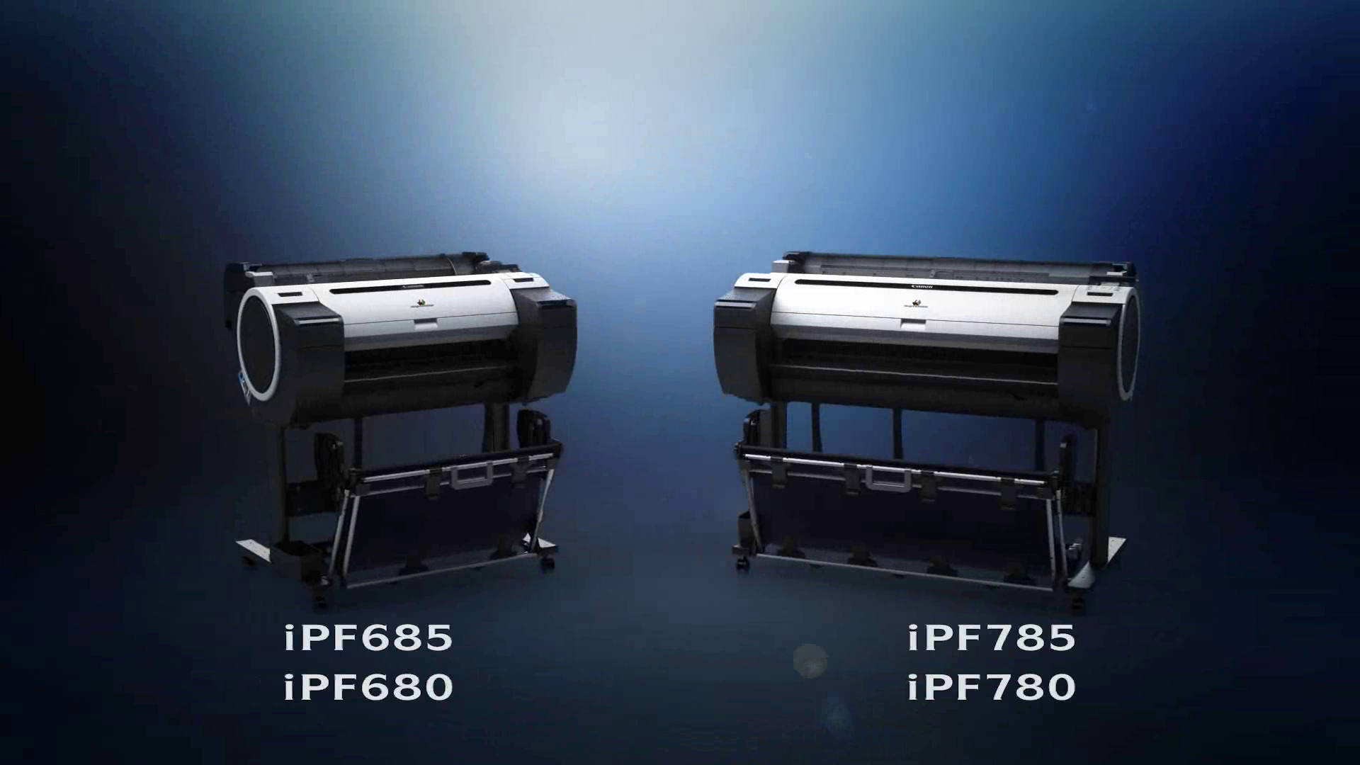 New Canon iPF 5 colour series graphic