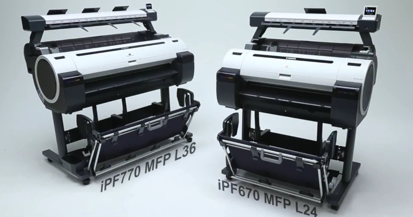 NEW Canon MFP L24 & MFP L36 graphic