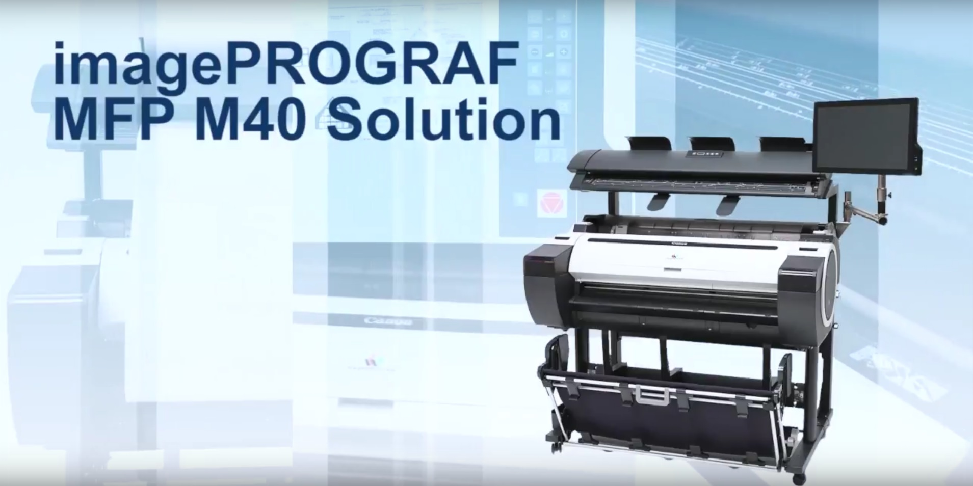 M40 MFP Solution graphic