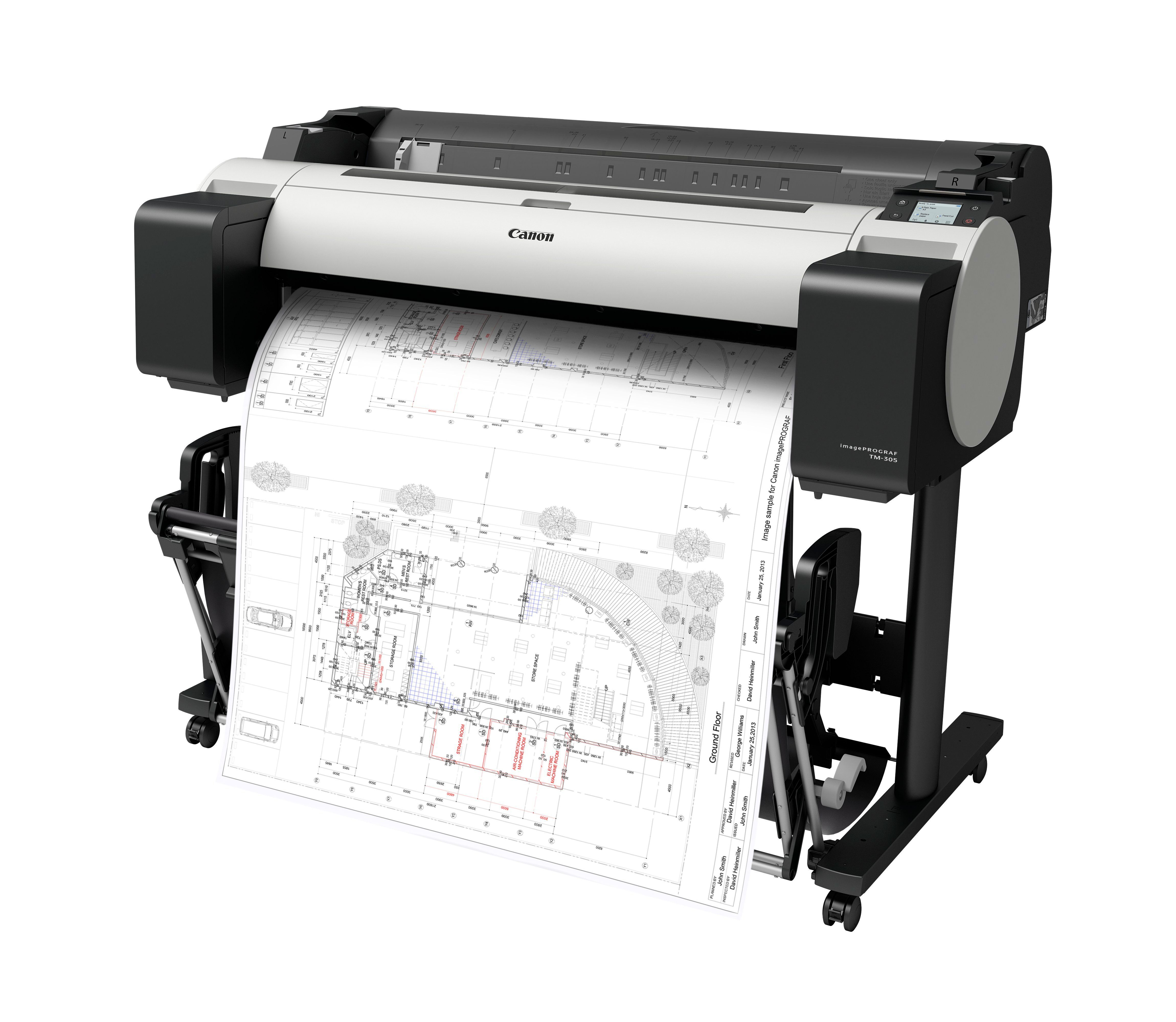 tm-300_cad_design_drawing_printer