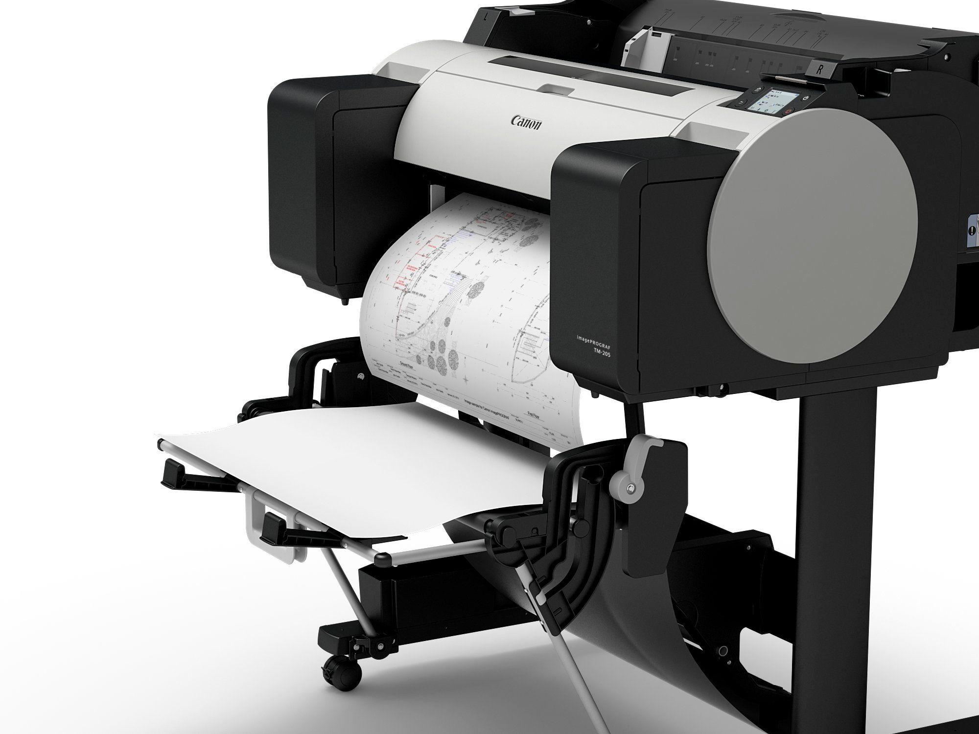TM-205_5ink_Cad_design_printer