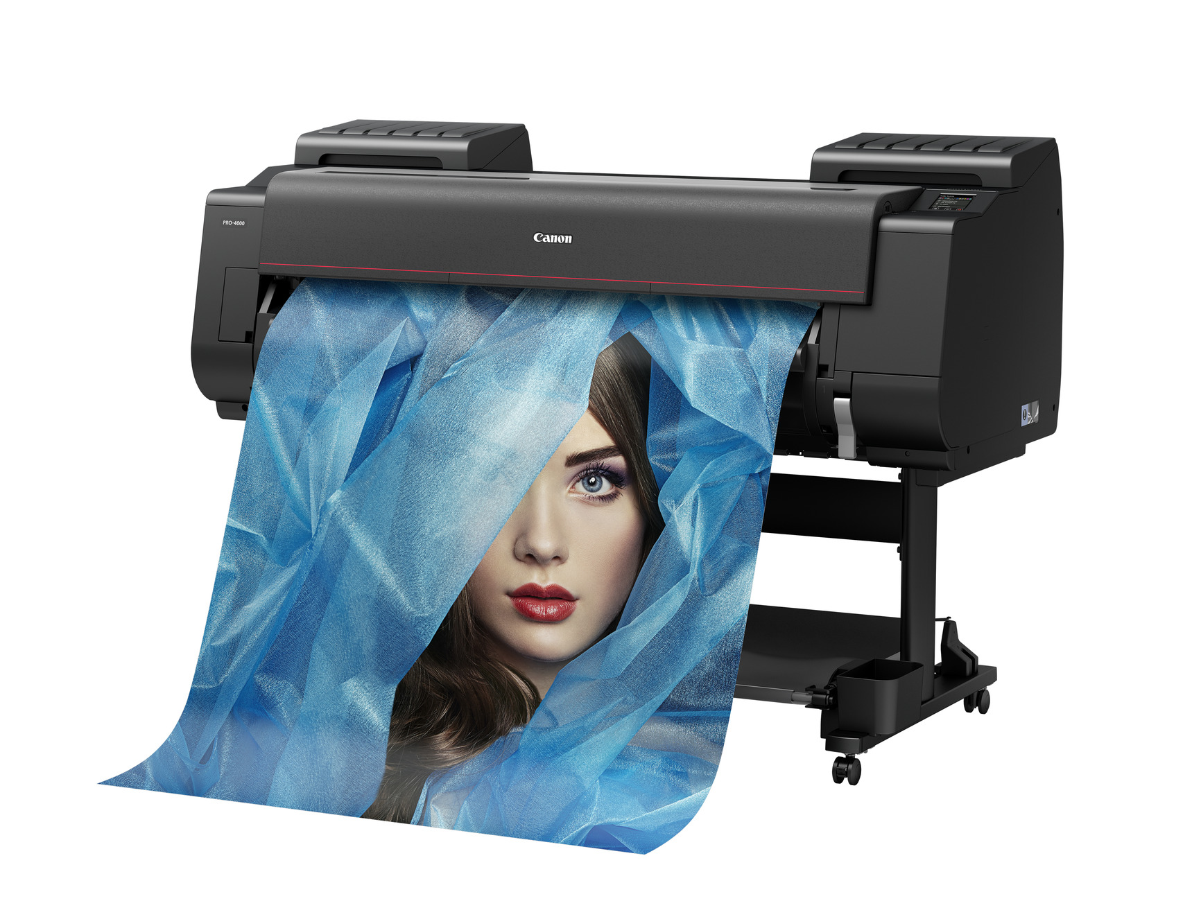 imagePROGRAF_PRO-4000 Paper Out Front Right View printing