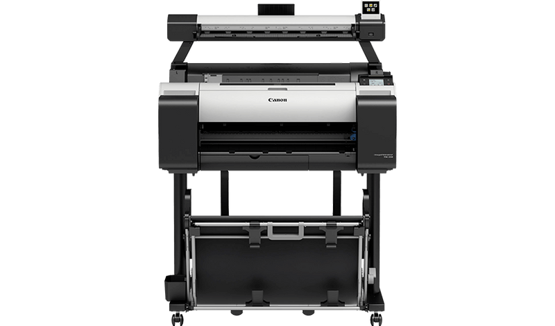 Canon TM-200 L24ei All-in-one 24 inch wide format CAD Poster
