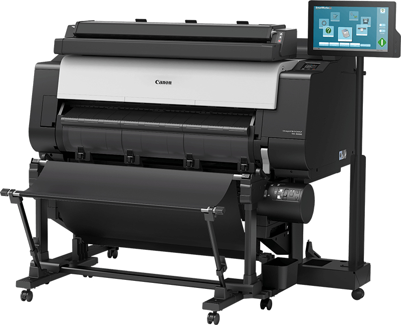tx-3000-mfp-t36 second roll feed