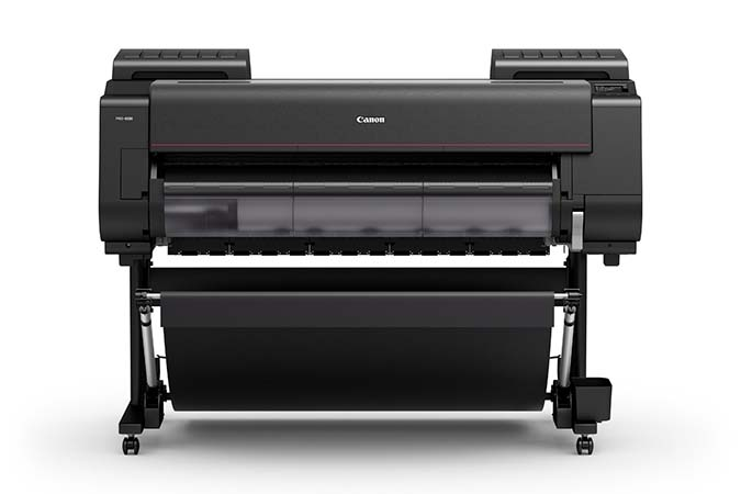 imageprograf-pro-4100 12 Ink 44 Inch Width Fine art Photography Border-less Printer Centre
