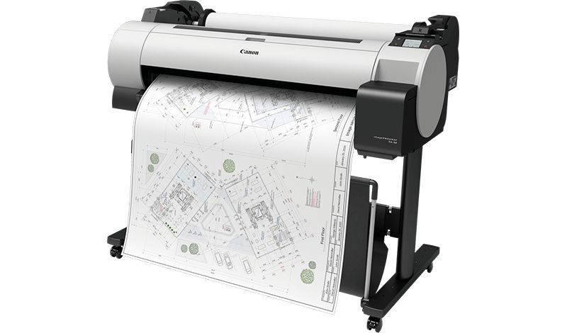 TA-30 36 Inch Site Drawing Printing