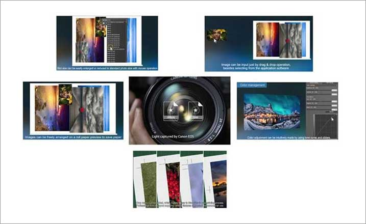 canon professional print layout software