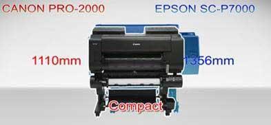 Canon PRO-2000 vs Epson SC-P7000