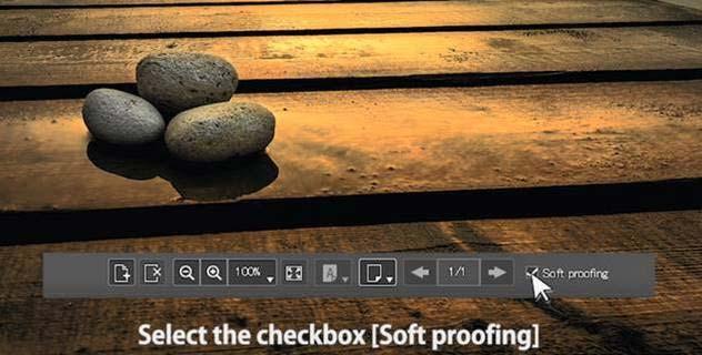 canon printer soft proofing