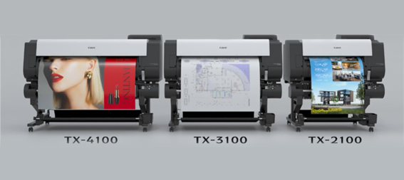 new canon TX-2100 TX-3100 and the TX-4100
